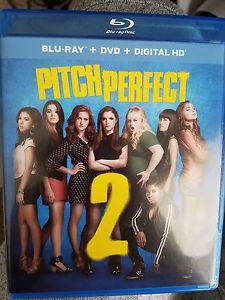 Pitch Perfect 2 (Anna Kendrick, Rebel Wilson) Blu-Ray + DVD - 2015 movie