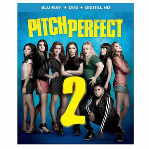 Pitch Perfect 2 (Blu-ray + DVD) Anna Kendrick, Rebel Wilson