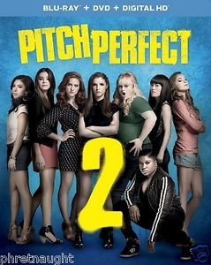 PITCH PERFECT 2 BLU-RAY / DVD - NEW - ANNA KENDRICK - BRITTANY SNOW