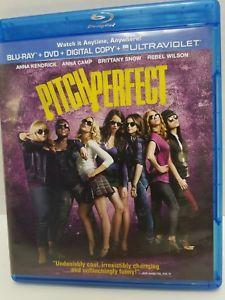 PITCH PERFECT Blu-ray & DVD Discs 2-Disc Set Anna Kendrick Rebel Wilson