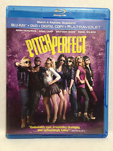 Pitch Perfect (Blu-Ray+DVD, 2012) Anna Kendrick, Skylar Astin, Rebel Wilson, +++