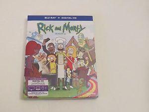 Rick Morty Season 2 (Blu-ray Disc + Digital HD, 2016)