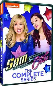 Sam & and Cat: Complete Ariana Grande iCarly Victorious Spinoff Series DVD Set