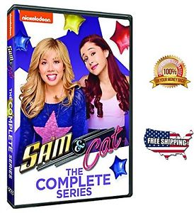 Sam And Cat The Complete Series Comedy Movies DVD 2015 Ariana Grande J McCurdy