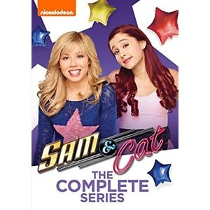 Sam Cat The Complete Series Comedy Movies DVD 2015 Ariana Grande J McCurdy GIFT