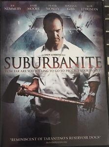 Suburbanite (DVD, 2016) Horror