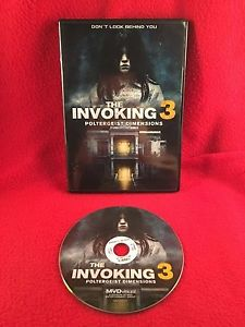The Invoking 3 Paranormal Dimensions DVD 2016 Horror Lee Matthews Rare OOP Clean