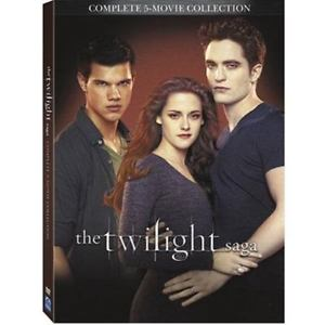 The Twilight Saga Complete 5-Movie Collection (DVD,2016,2-Di