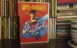 1 Cent: Army of Darkness (DVD, 2016) Evil Dead; Horror; Comedy; Bruce Campbell