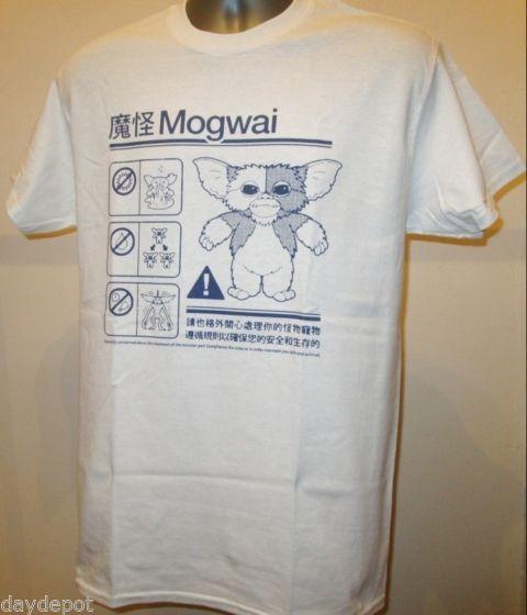 Gildan Gremlins Mogwai Safety Diagram 80s Comedy Horror Movie T Shirt Lost Boys New 232 men's t-shirt