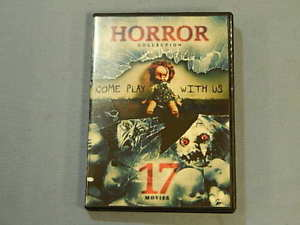 Horror Collection: 17 Movies - Come Play with Us (DVD, 2016, 4-Disc Set)