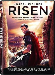 NEW - Risen DVD NEW 2016 Joseph Fiennes, Cliff Curtis DRAMA BRAND NEW