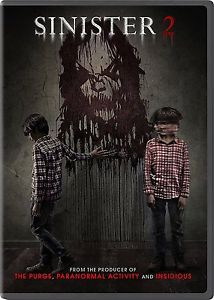 SINISTER 2 (DVD, 2016) - Brand New! Free Shipping!!