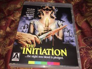 THE INITIATION (BLU-RAY Disc 2016) LIKE NEW HORROR SLASHER ARROW VIDEO