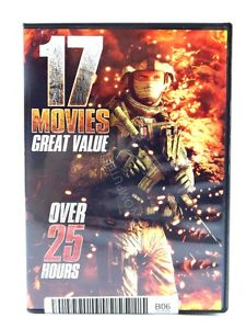 17-Movie Action Collection (DVD)