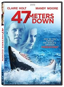 47 Meters Down (DVD 2017) NEW* Horror, Thriller* NOW SHIPPING !