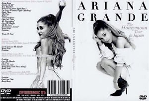ARIANA GRANDE / THE HONEYMOON TOUR IN TOKYO, JAPAN 2015 1xDVD F/S NEW SEALED