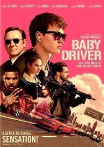 Baby Driver:NEW [DVD, 2017]-Action, Crime-PRE-ORDE