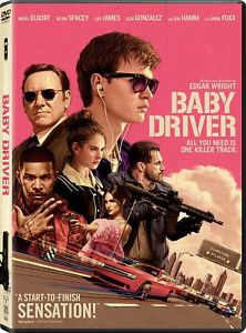 Brand New-Baby Driver (DVD 2017)* Action, Crime* PRE-ORDER SHIP ON 10/10/17