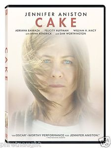 CAKE DVD - JENNIFER ANISTON - WILLIAM H. MACY - ANNA KENDRICK