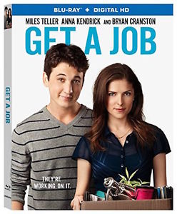 GET A JOB BLU-RAY - SINGLE DISC EDITION - NEW UNOPENED - ANNA KENDRICK