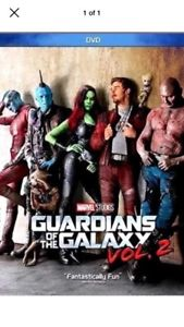 Guardians of the Galaxy Vol. 2 (DVD, 2017) Brand New, Action* FREE SHIPPING USA!