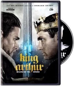 King Arthur: Legend of the Sword(DVD 2017)NEW*Actio