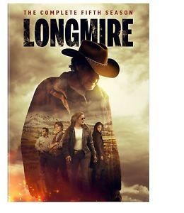 Longmire: The Complete Fifth Season 5 (DVD, 2017, 3-Disc Set)
