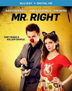 MR RIGHT New Sealed Blu-ray Anna Kendrick