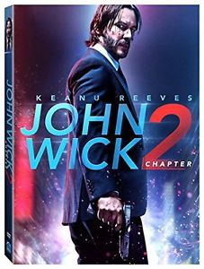 NEW John Wick Chapter 2 DVD (2017) Action Kenau Reeves SHIPS in 1 BUSINESS DAY