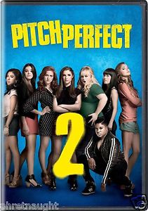 PITCH PERFECT 2 DVD - NEW - ANNA KENDRICK - REBEL WILSON - AUTHENTIC US RELEASE