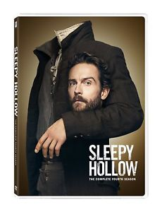 Sleepy Hollow: The Complete Fourth Season 4 (DVD, 2017,4-Disc Set)