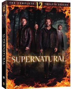Supernatural: The Complete Twelfth Season 12 (DVD, 2017) New! FREE Shipping!