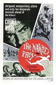 THE NAKED PREY (DVD) 1965 THRILLER ACTION