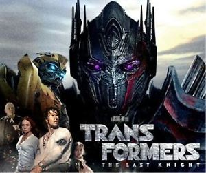 Transformers The Last Knight Action Movie Part 5 2017 DVD New Fast Free Shipping
