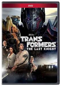 Transformers: The Last Knight (DVD 2017) NEW*Action* Fast shipping