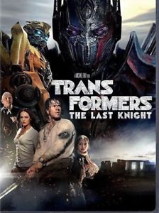 Transformers: The Last Knight (DVD 2017) NEW*Action* PRE-ORDER SHIPS ON 09/26/17