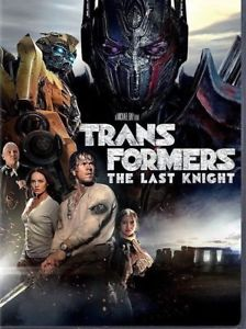 Transformers: The Last Knight (DVD 2017) NEW*Action* SHIPPING NOW !