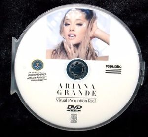 ARIANA GRANDE Visual Promotion Reel Record Company 14 Music Videos DVD FREE SHIP