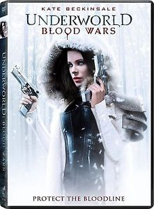 BRAND NEW- Underworld: Blood Wars ( DVD 2016) NEW* Action, Horror* FREE SHIPPING