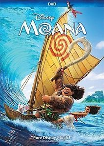 BRAND NEW- Moana (DVD 2016)*Comedy, Family, Animation*