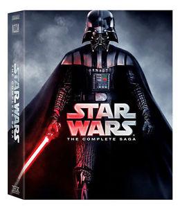 Star Wars: The Complete Saga (Episode 1-6, 12-Disc DVD) Box Set