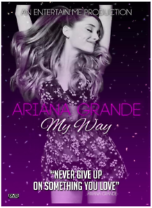Ariana Grande - My Way (DVD, Widescreen, 2016, Biopic) >NEW