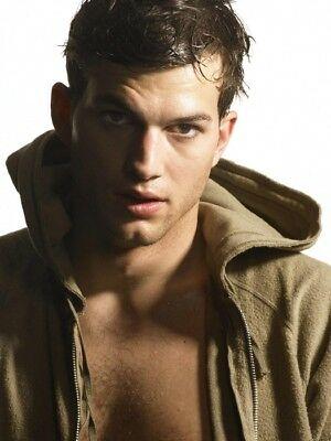Ashton Kutcher Poster [17 x 24] Hot Male Actor #1