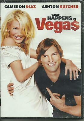 What Happens in Vegas (DVD, 2009) BRAND NEW !! Ashton Kutcher Cameron Diaz