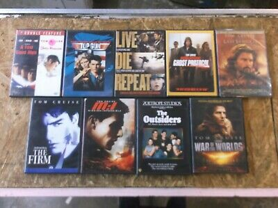 10 - Tom Cruise - DVD Movie Collection Set (Lot 13361)