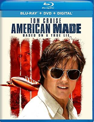American Made Blu-ray Tom Cruise NEW