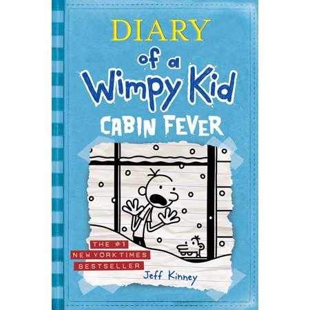 Cabin Fever (Diary of a Wimpy Kid #6) (Hardcover)