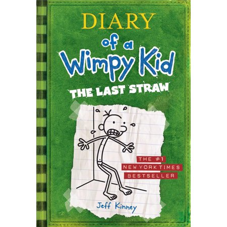 Diary of a Wimpy Kid # 3 - The Last Straw (Hardcover)