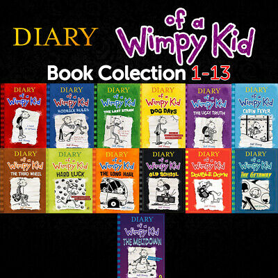 Diary of a wimpy kid book Collection 1-13 - For Children ✅digital version✅